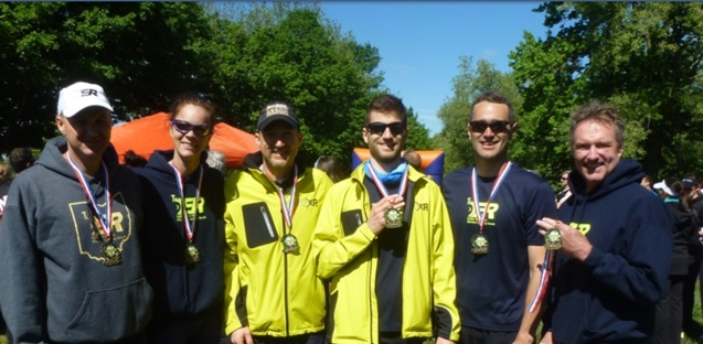 Clays Park Tri award winners, see what's new section for results. Paul L. Colleen, Jason, Alex, Scott, and Henry