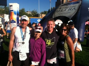 STEVE, ANGELICA, HENRY AND ROXANNE AKRON MARATHON