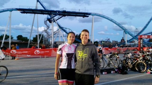 Ashley and Carlo, Cedar Point 1/2