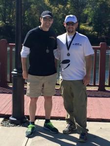 Scott and Hansel...West Penn Tri