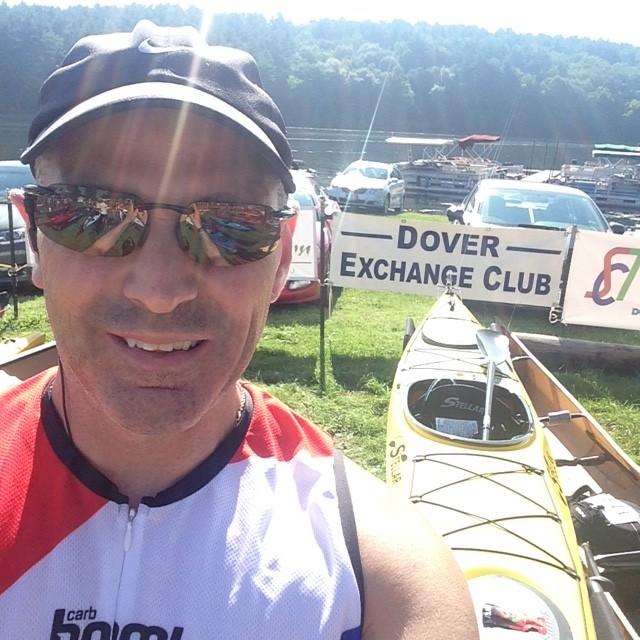 Scott, Leesville Lake Kayak Race